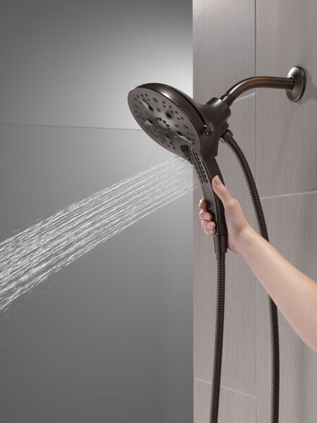 In2ition® H<sub>2</sub>Okinetic® 5-Setting Two-in-One Shower, image 5