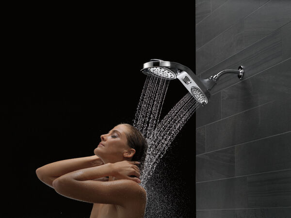 HydroRain® 5-Setting Two-in-One Shower Head, image 9