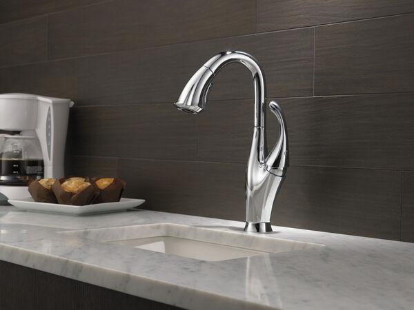 Single Handle Pull-Down Bar / Prep Faucet, image 3