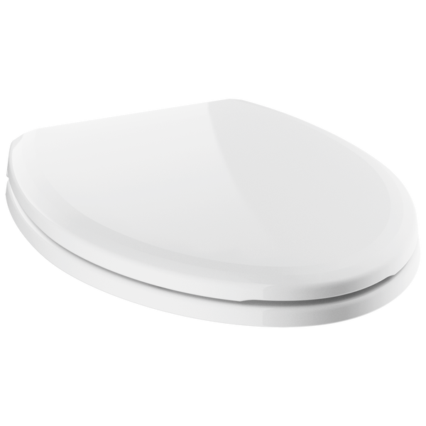 Elongated Slow-Close Toilet Seat, image 1