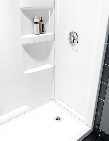 ProCrylic 60 in. x 32 in. Shower Surround, image 2