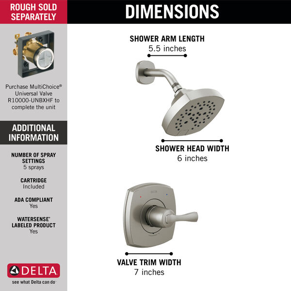 14 Series Shower Only, image 3