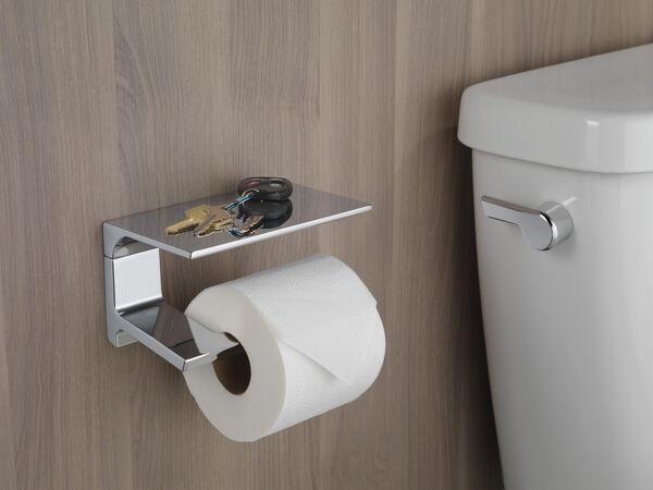 Tissue Holder with Shelf, image 2