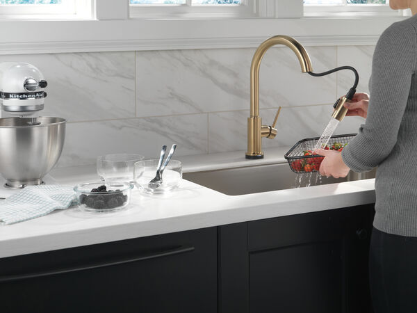 VoiceIQ™ Single-Handle Pull-Down Kitchen Faucet with Touch<sub>2</sub>O® Technology, image 5
