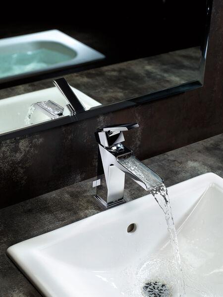 Single Handle Channel Bathroom Faucet, image 14