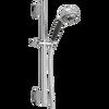 H<sub>2</sub>Okinetic® 5-Setting Slide Bar Hand Shower