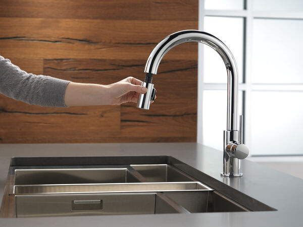 Single Handle Pull-Down Kitchen Limited Swivel, image 3
