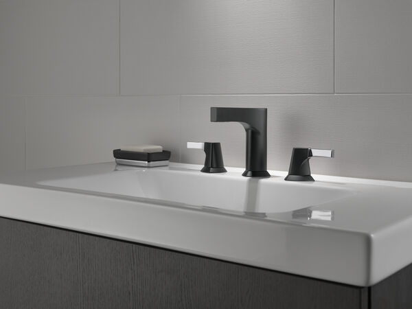 Two Handle Widespread Bathroom Faucet - Less Handles, image 3