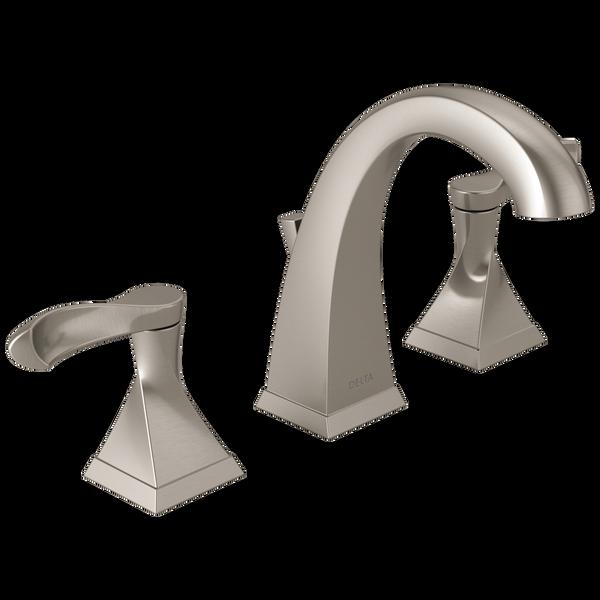 Widespread Bathroom Faucet 35741 Sp Dst, Bathroom Faucets Widespread Brushed Nickel
