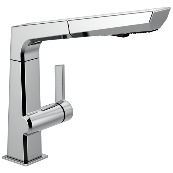 Single Handle Pull Out Kitchen Faucet, image 1