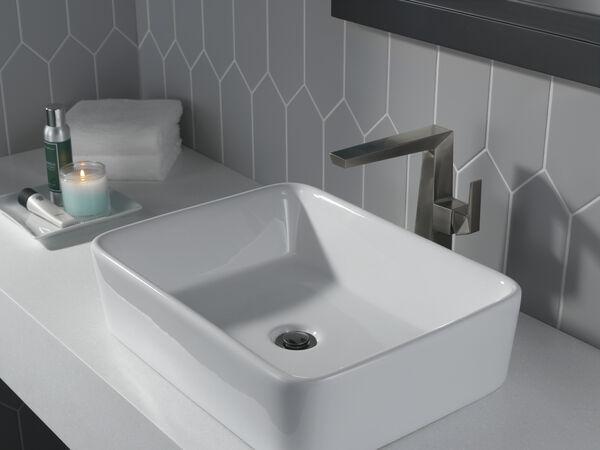 Single Handle Vessel Bathroom Faucet, image 4