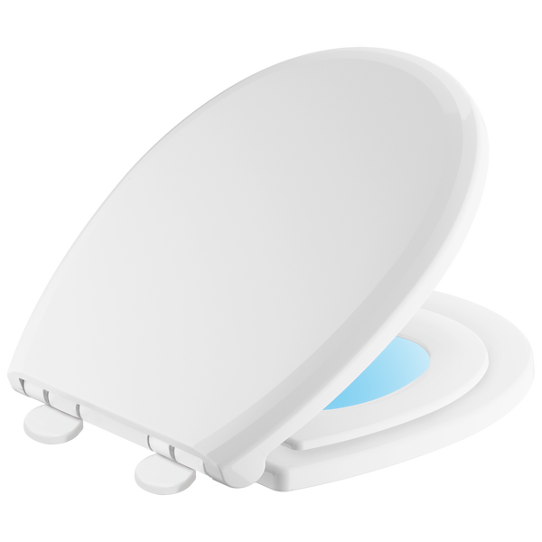 Round Front Slow-Close / Quick-Release Nightlight Family Seat, image 1