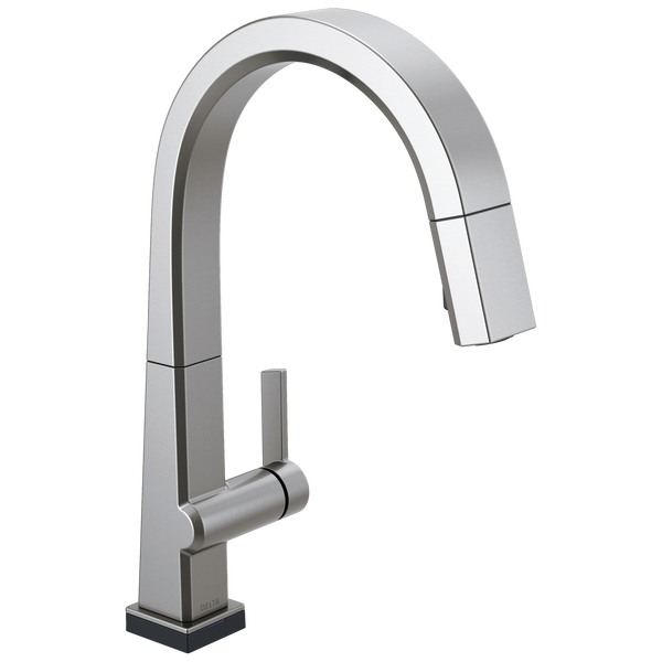 Single Handle Pull Down Kitchen Faucet with Touch2O® Technology, image 1