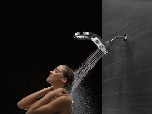 HydroRain® 5-Setting Two-in-One Shower Head, image 12