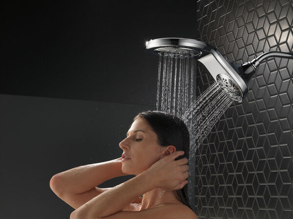 HydroRain® H<sub>2</sub>Okinetic® In2ition® 5-Setting Two-in-One Shower, image 15