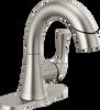 Single Handle Pull-Down Bathroom Faucet