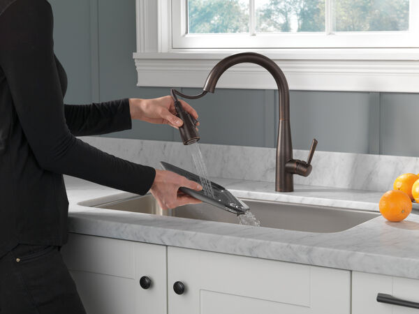Single Handle Pull-Down Kitchen Faucet, image 6