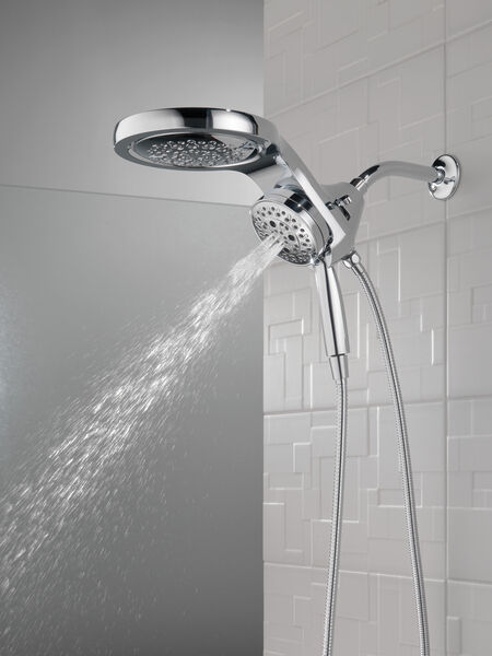HydroRain® H<sub>2</sub>Okinetic® 5-Setting Two-in-One Shower Head, image 21