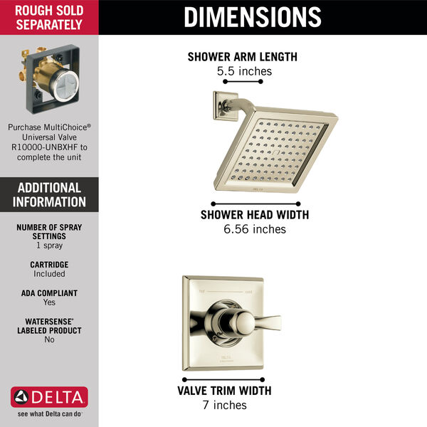 Monitor® 14 Series Shower Trim, image 2