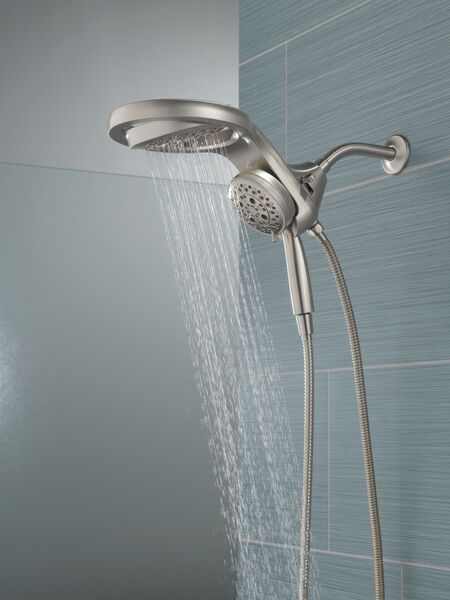 HydroRain® H<sub>2</sub>Okinetic® 5-Setting Two-in-One Shower Head, image 13