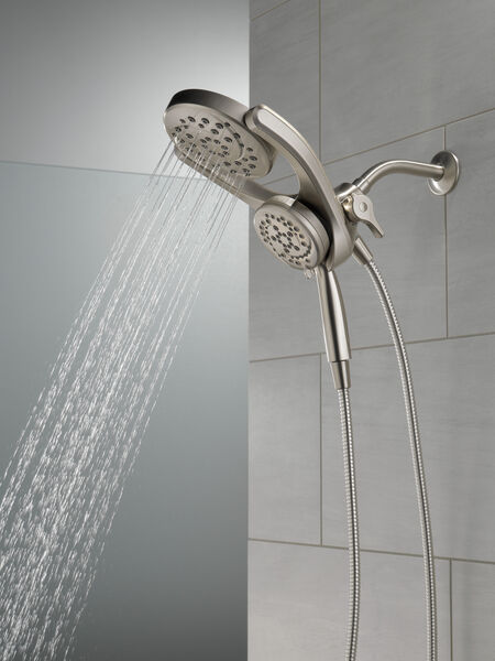 HydroRain® 4-Setting Two-in-One Shower Head, image 14