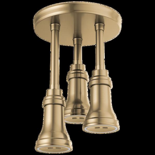 H<sub>2</sub>Okinetic® Pendant Raincan Shower Head with LED Light, image 1