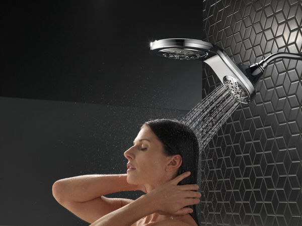 HydroRain® H<sub>2</sub>Okinetic® In2ition® 5-Setting Two-in-One Shower, image 17