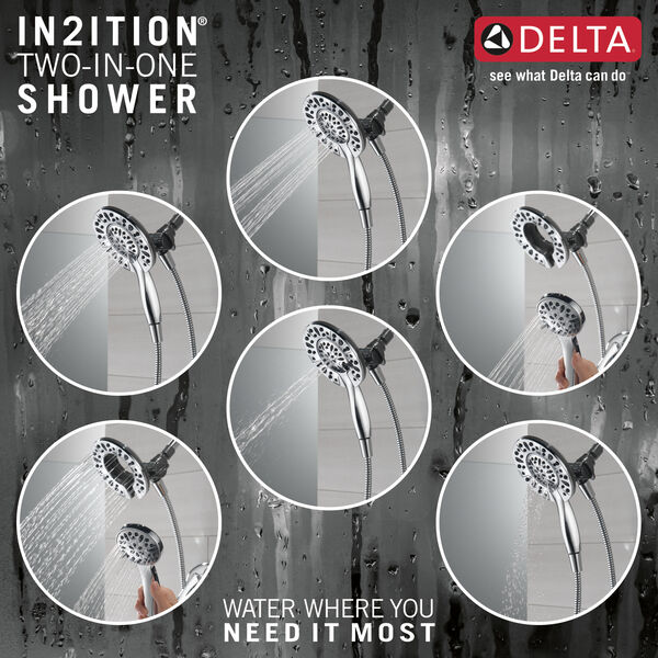 Monitor®14 Series Tub & Shower with In2ition®, image 3