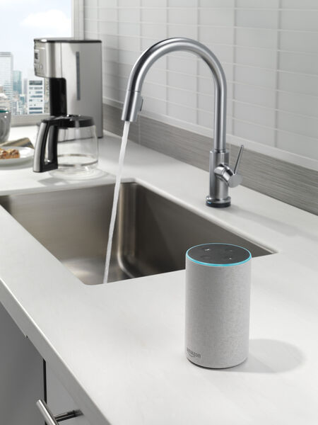 VoiceIQ™ Single-Handle Pull-Down Kitchen Faucet with Touch<sub>2</sub>O® Technology, image 19