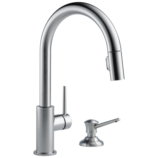 Single Handle Pull-Down Kitchen Faucet (Recertified), image 3