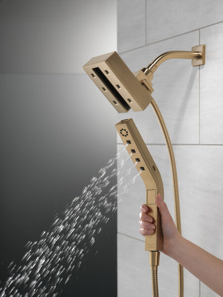 H<sub>2</sub>Okinetic® In2ition® 4-Setting Two-in-One Shower, image 4