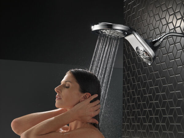 HydroRain® H<sub>2</sub>Okinetic® In2ition® 5-Setting Two-in-One Shower, image 10
