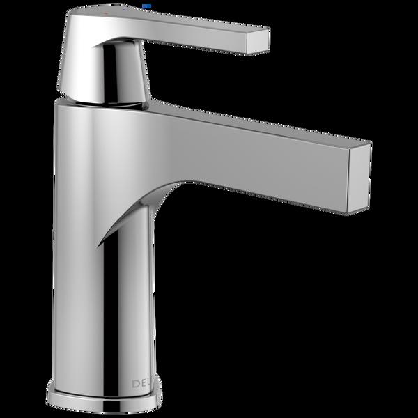 Single Handle Bathroom Faucet - Less Pop Up, image 1
