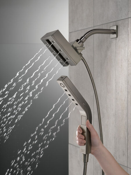 H2Okinetic® In2ition® 4-Setting Two-in-One Shower, image 5