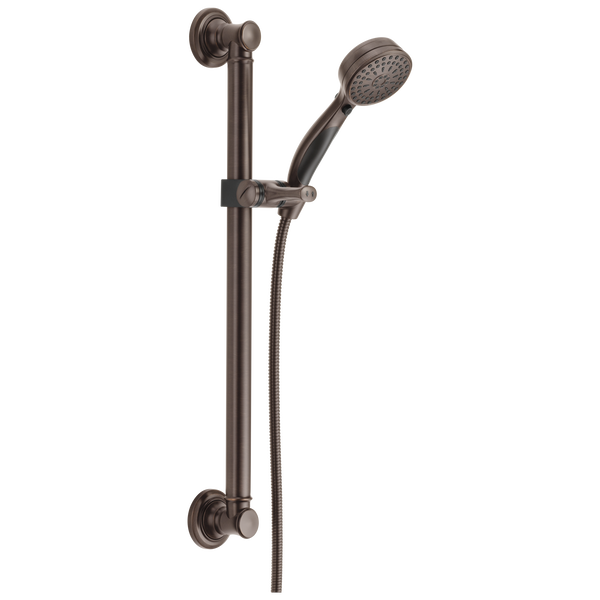 ActivTouch® 9-Setting Hand Shower with Traditional Slide Bar / Grab Bar, image 1