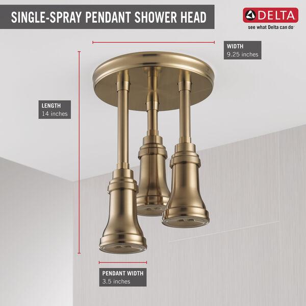 H<sub>2</sub>Okinetic® Pendant Raincan Shower Head with LED Light, image 5