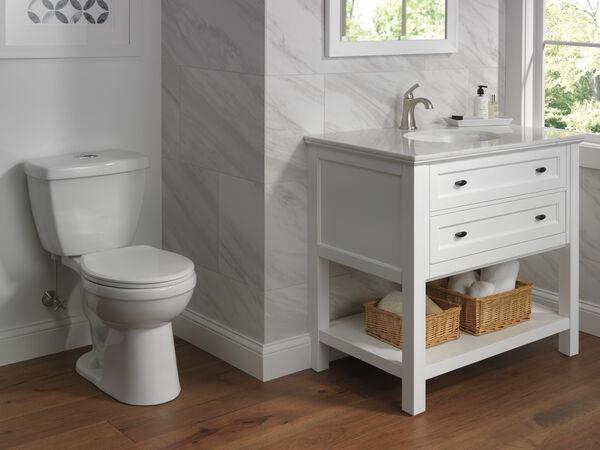 Round Front Toilet, image 2
