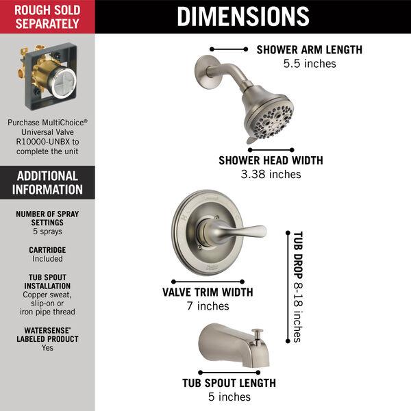 Monitor® 13 Series Tub & Shower Trim, image 3