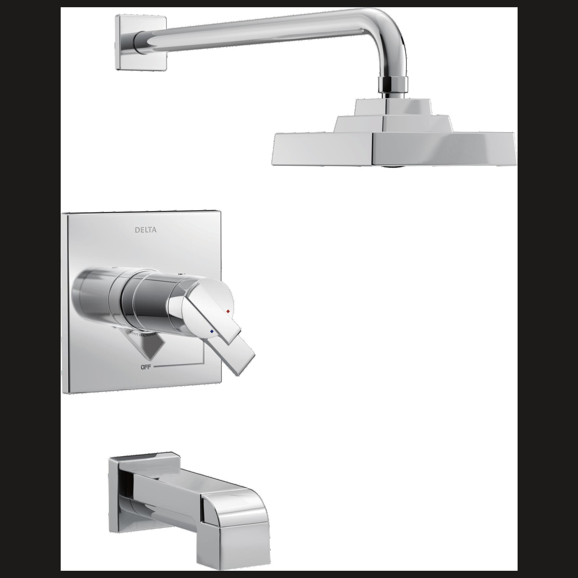 TempAssure® 17T Series H2Okinetic® Tub & Shower Trim