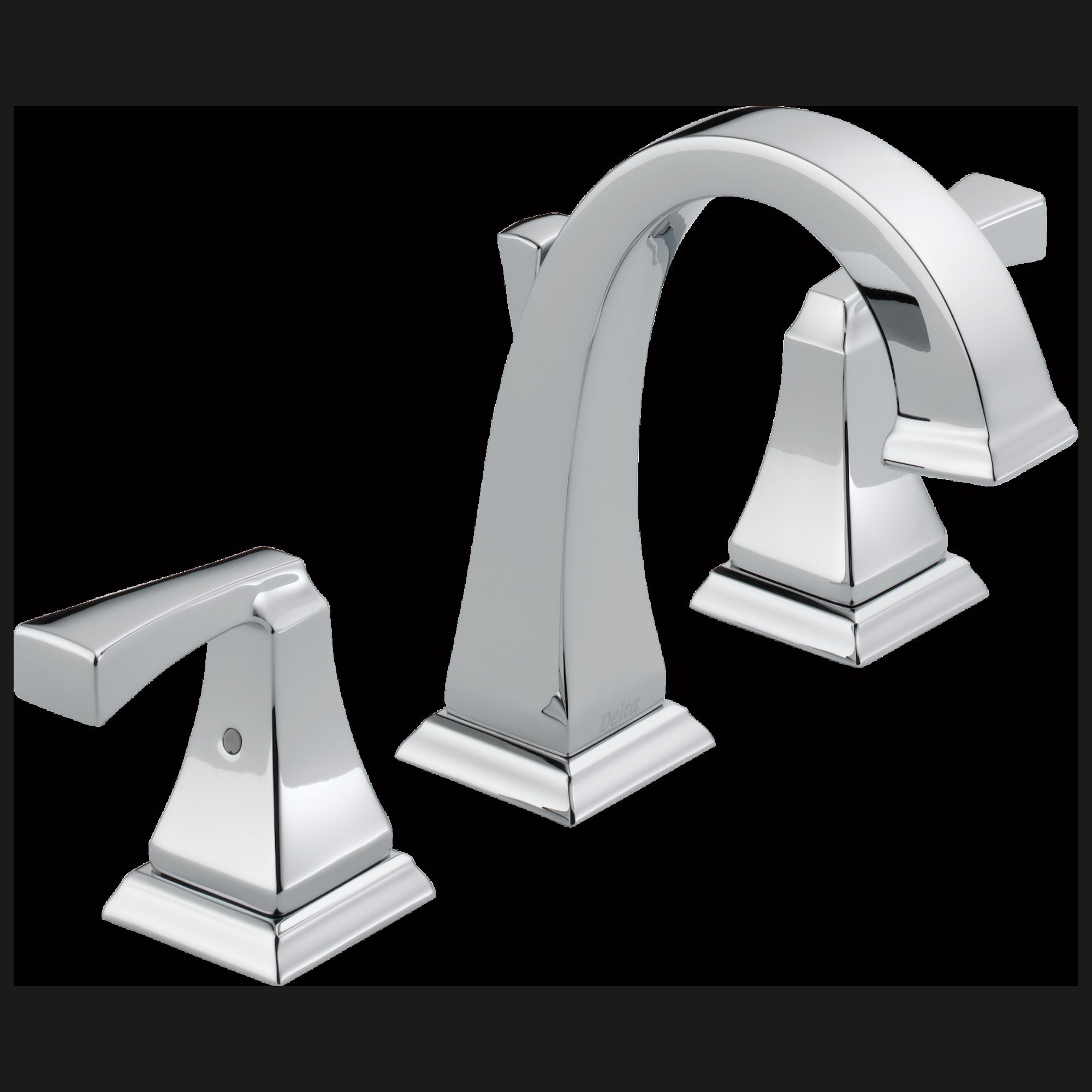Two Handle Widespread Bathroom Faucet