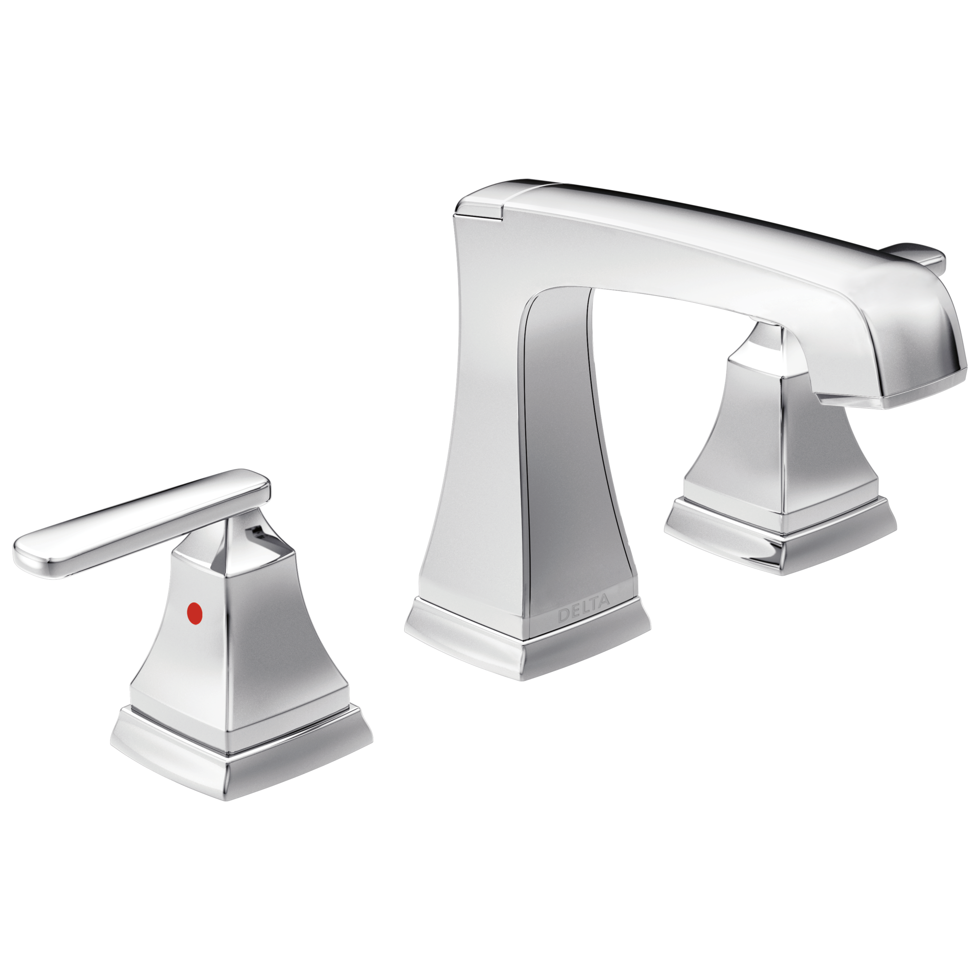 Two Handle Widespread Bathroom Faucet with EZ Anchor®