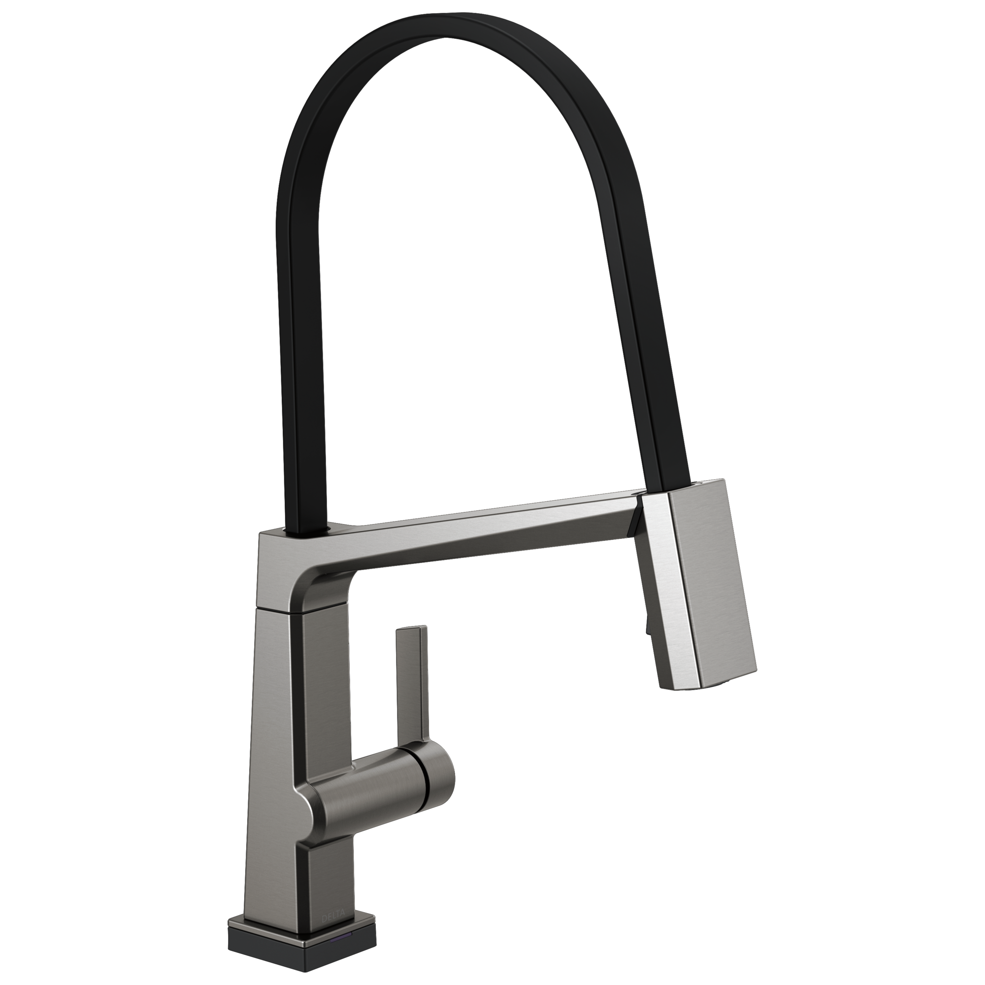 Single Handle Exposed Hose Kitchen Faucet with Touch<sub>2</sub>O Technology