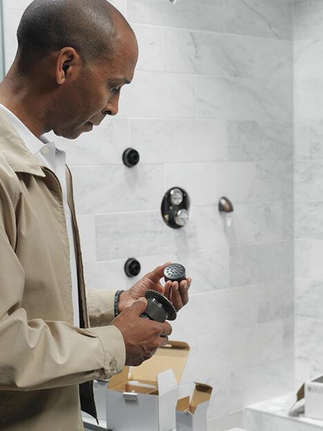 FAQ's shower multiple choice question 3