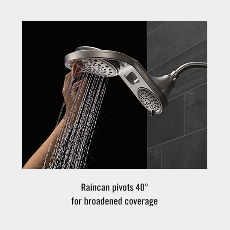 Hydrorain Two In One Dual Shower Head Delta Faucet