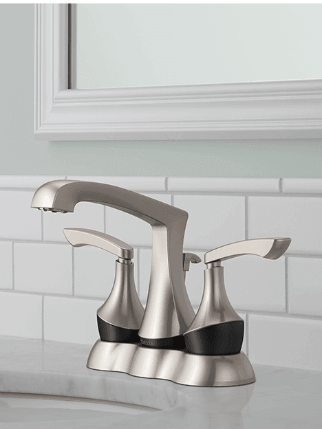 Faucet With Spotshield 174 Technology With Antimicrobial