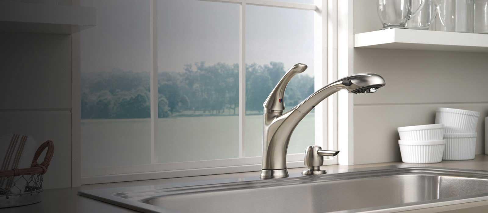 Debonair Kitchen Collection Delta Faucet