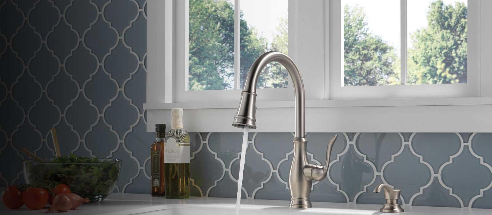 Zalia Kitchen Collection Delta Faucet