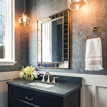 Bathroom finishes
