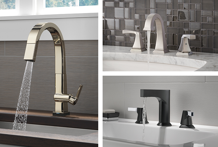 Faucet finishes: Comparing kitchen and bath faucet finishes