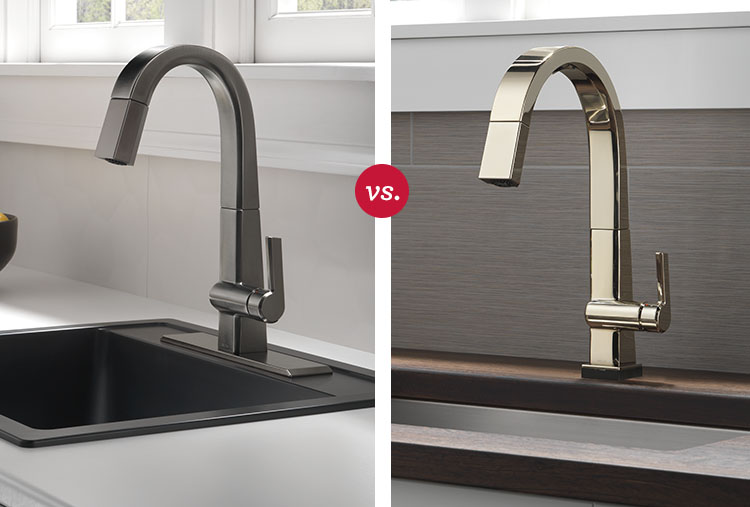 Faucet Finishes Comparing Bathroom Kitchen Faucet Finishes Delta Faucet Inspired Living
